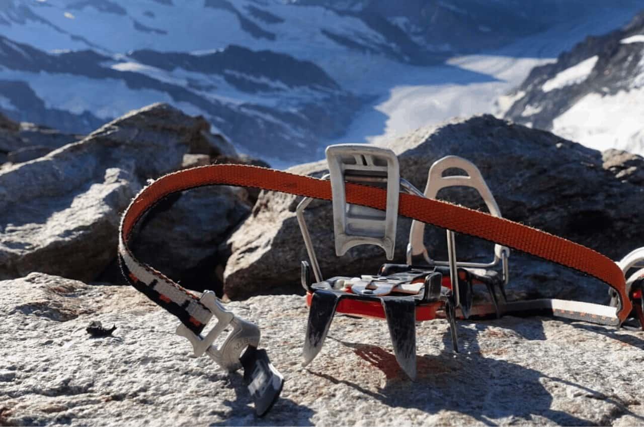 Steigeisen Titelbild - Bergsteigen in Schnee und Eis – Steigeisen