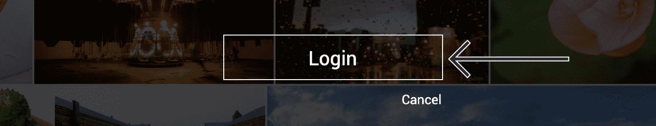 """Click """"Login."""""""