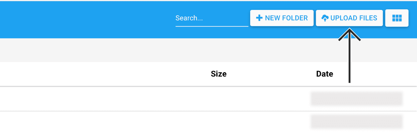 "Click ""Upload files."""