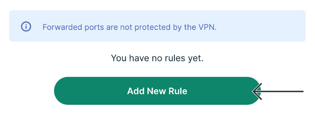 "Select ""Add New Rule."""