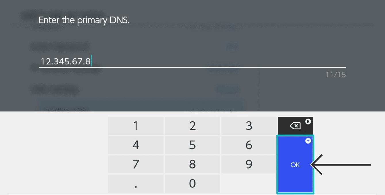 """Select """"OK."""""""