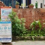 Coronavirus in Nepal: Station zum Händewaschen