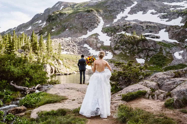 Sample Elopement Timeline Bride and Groom