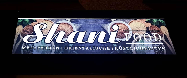 Digitaldruck für Leuchtkasten Reklame Bremen