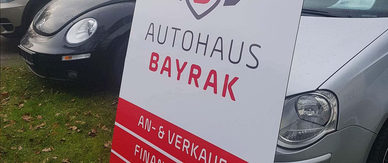 Autohaus Logo Schild Reklame Bremen