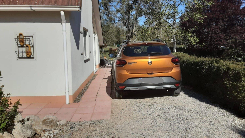 Villa 50, parkeerplaats