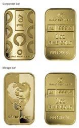 Goldbarren, Rand Refinnery