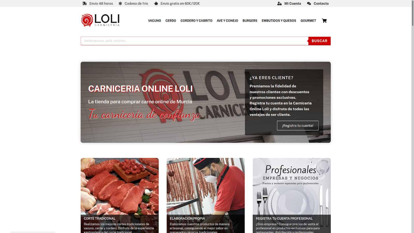 Carnicería Loli en Murcia