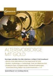 Gold, Altersvorsorge