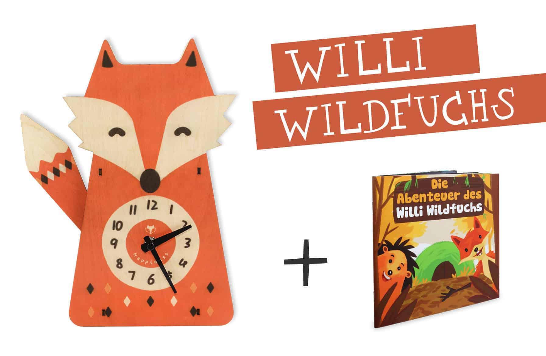 Glückswolke Highlight Willi Wildfuchs