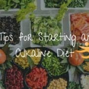 tips for starting an alkaline diet