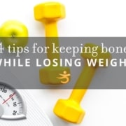 Losing weight and keeping bone