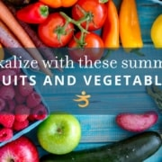 Fruits and vegetables to alkalize