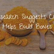 Curcumin build bones