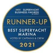 ACREW Runner-Up best Superyacht marina