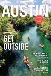 Visit Austin guide cover.