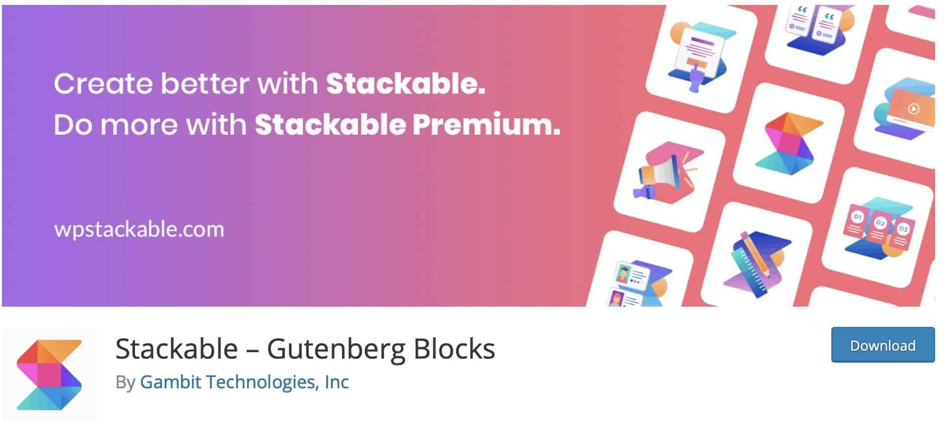 stackable