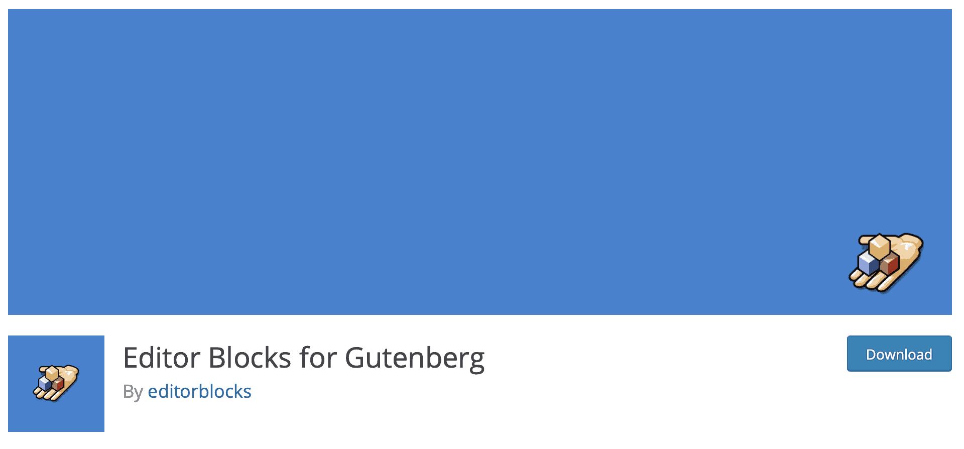 editor blocks