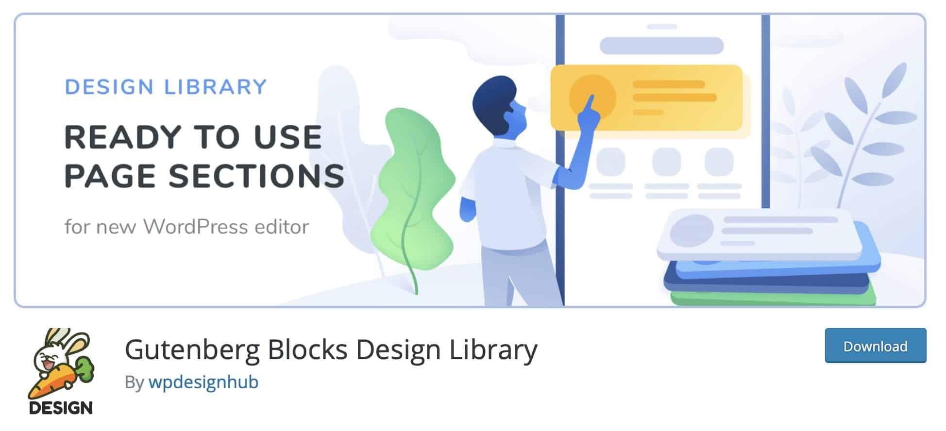 Gutenberg block design