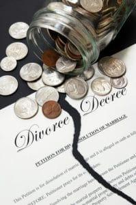 Self Representation Costs in Divorce