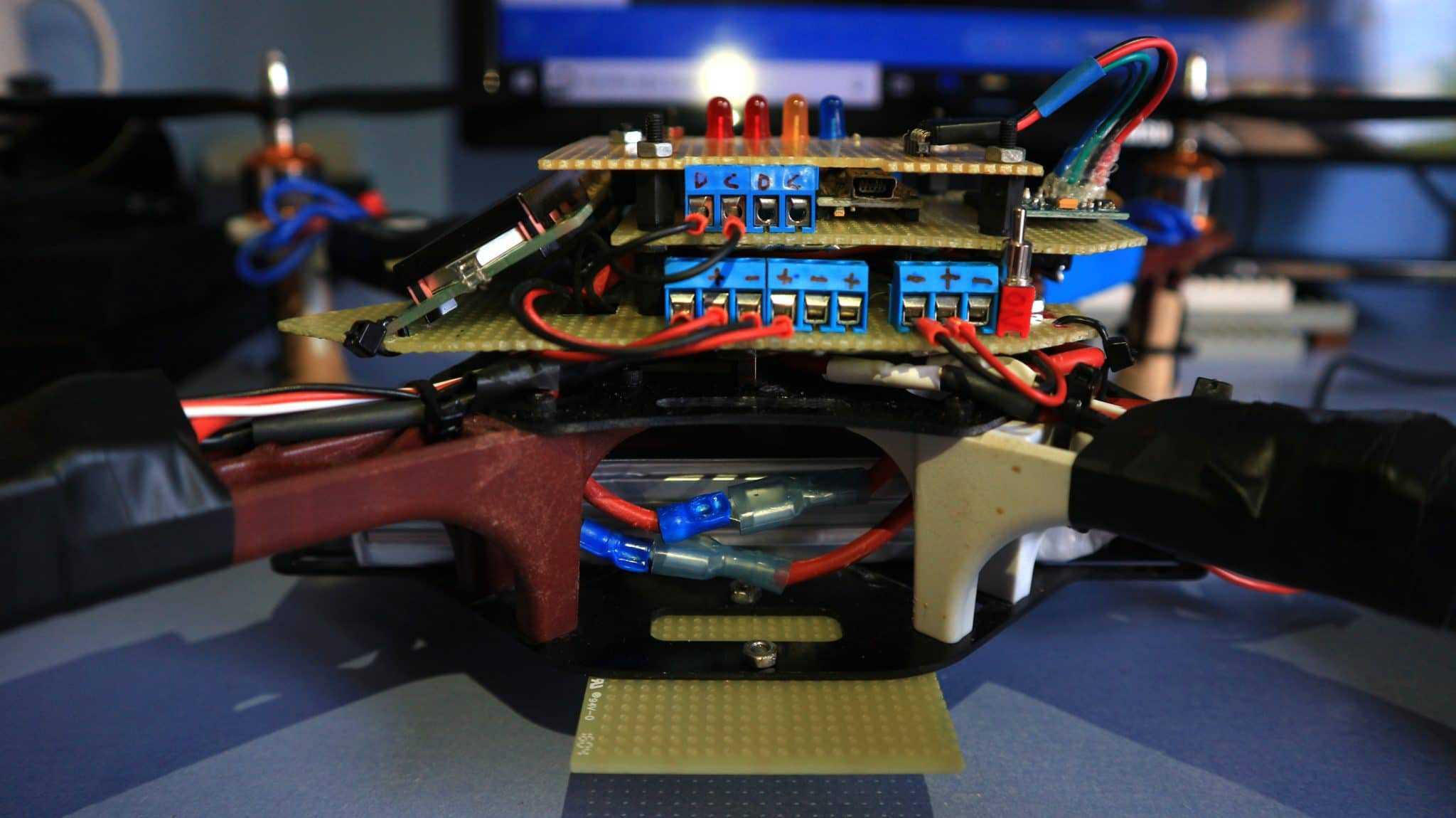 Conexionado drone arduino