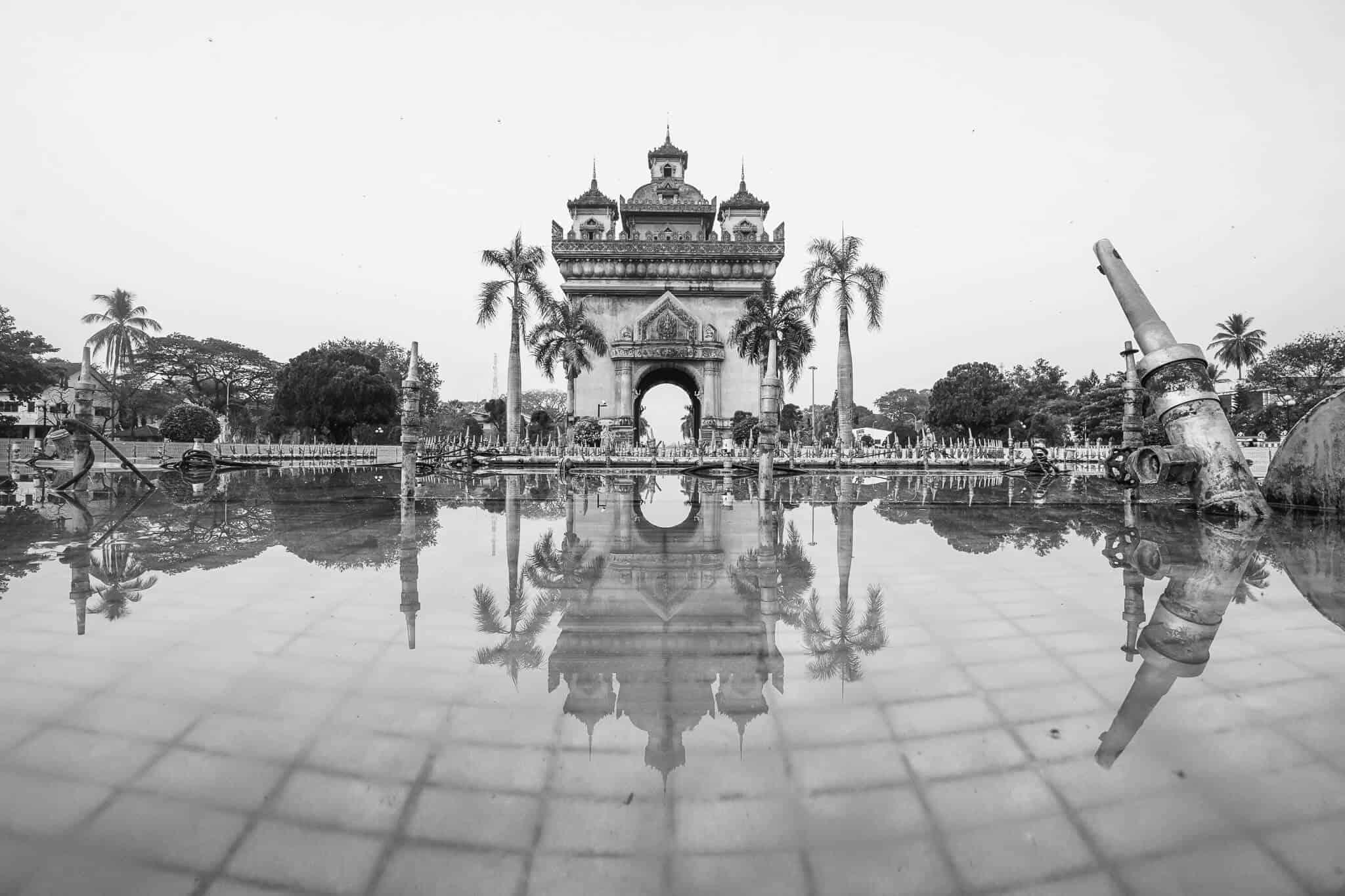 Patuxai War Monument Vientiane