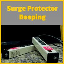 Surge Protector Beeping