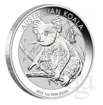 Silber-Koala 2018