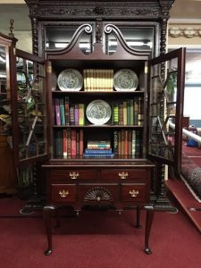 antique bookcase