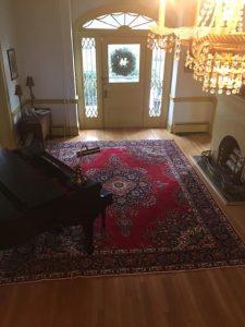 rug foyer decorating