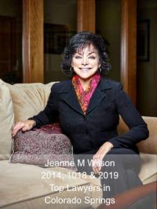 Jeanne M Wilson - Top Lawyer in Colorado Springs 2019
