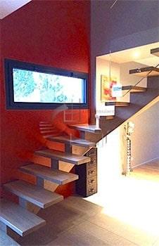 Escalier bois sur mesure Albi