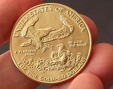 Goldmünze American Gold Eagle (Foto: Goldreporter)
