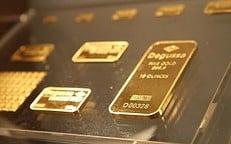Goldbarren Degussa