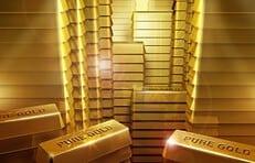 Geld gegen Gold: Auch der Iran baut Dollar-Reserven ab.