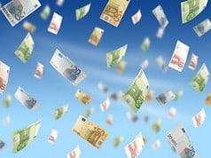 Geldregen auch im Euro-Raum (Foto: Fantasista - Fotolia.com)
