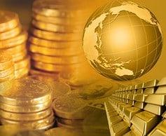 Gold und die Welt