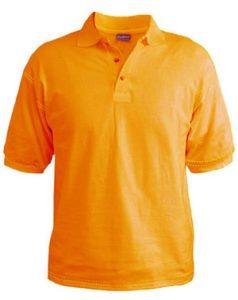 Polo T-Shirt - Tangerine