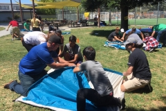 Survivors-Tent-Raising