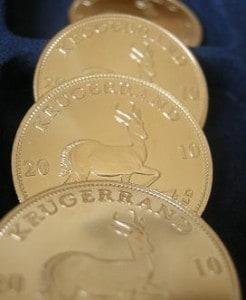 Beliebtestes Goldanlage-Produkt: Krügerrand-Goldmünzen