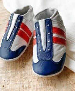 baby dutch jogger blauw wit