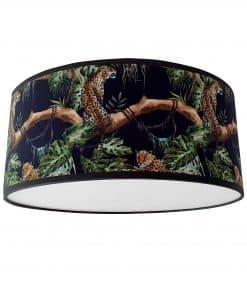 plafondlamp luipaard