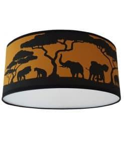 plafondlamp_safarisilhouette