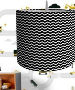 Lamp basic Zigzag zwart
