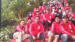 Ketua Komunitas Masyarakat Purwakarta (KMP), Ir. H. Zaenal Abidin, MP (pakai topi coklat)