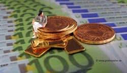 Gold kaufen, Goldmünzen, Goldbarren (Foto: Goldreporter)
