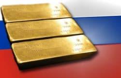 Gold, Russland, Goldbarren (Foto: Goldreporter)