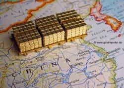 Gold, Goldreserven, China (Foto: Goldreporter)