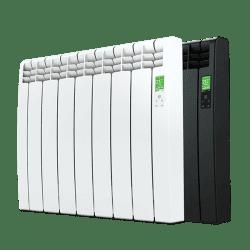 Rointe D Series 7 element wifi aluminium oil filled radiator in white and black