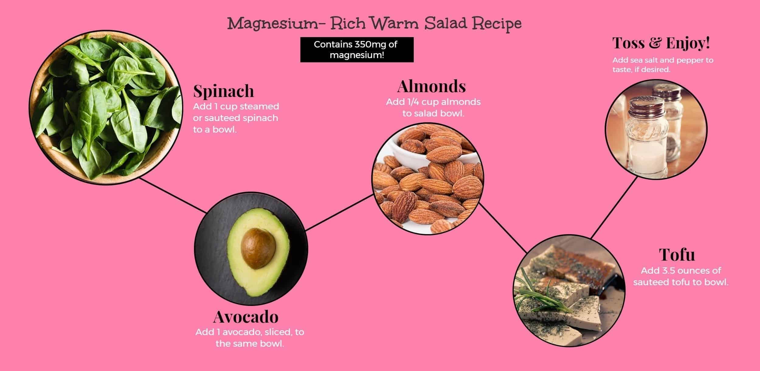 Magnesium rich salad recipe
